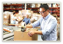 From click to ship, we can handle the entire order fulfillment process for you, and even offer custom services as well, such as picking-and-packing, polybagging, shrink-wrapping, and more!