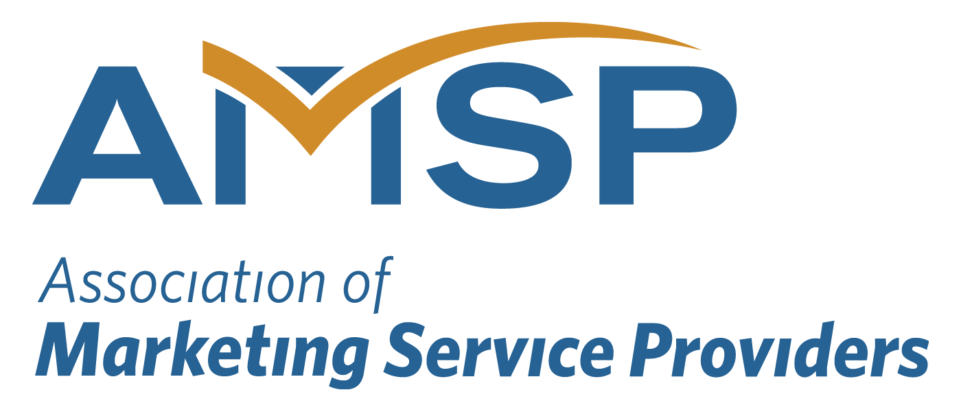 We're an active member of the Association of Marketing Service Providers!
