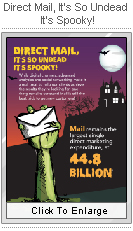 Direct Mail, Its so Undead, Its Spooky!