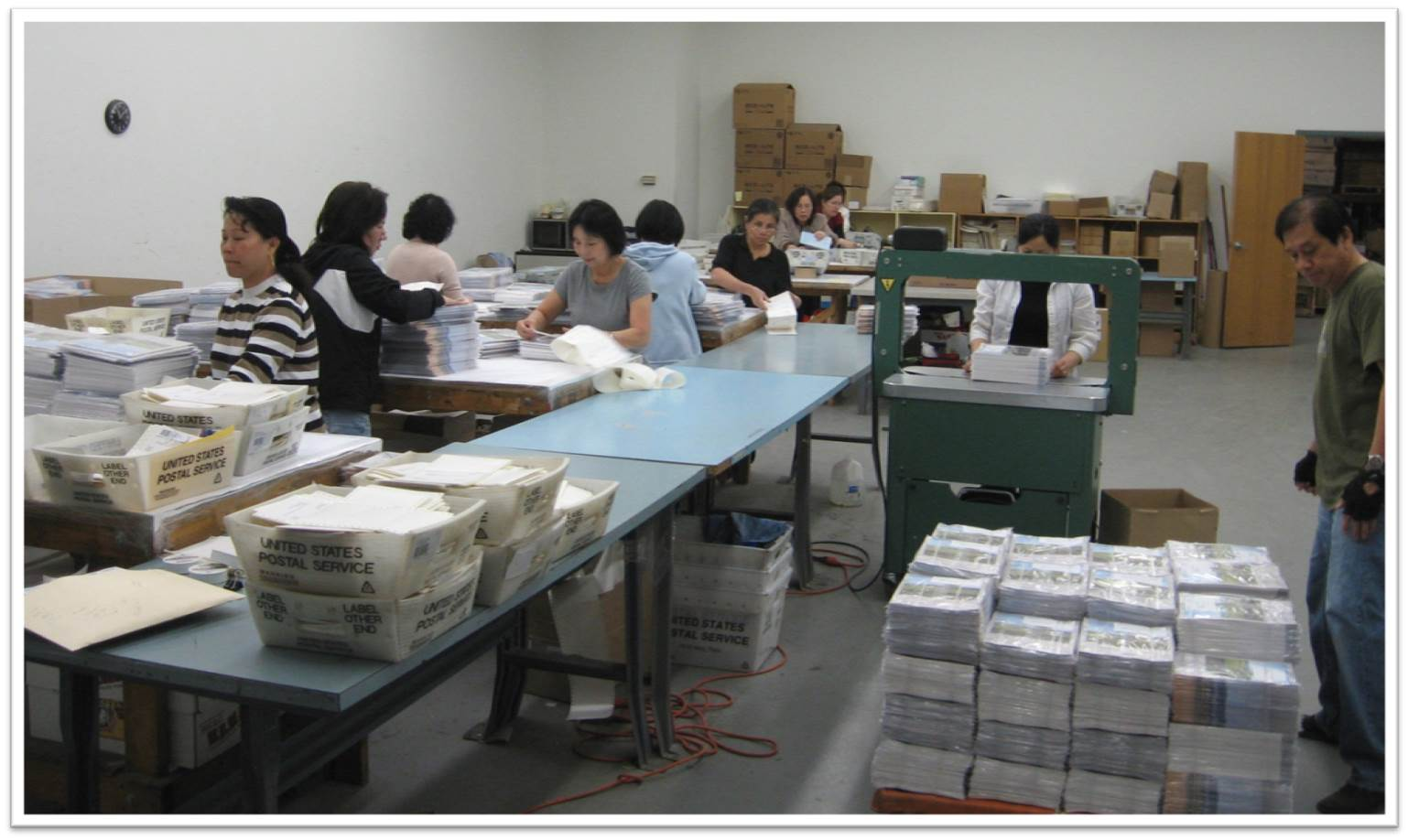 With state-of-the-art printing pressrooms and a full-service lettershop, we can handle every aspect of collateral production and assembly!