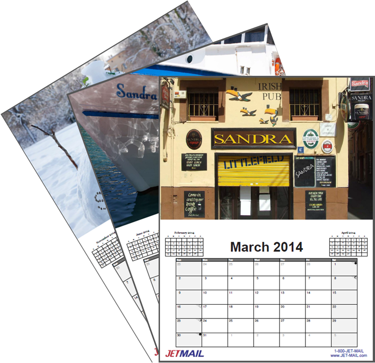 Click HERE to View the Entire VDP Sample Calendar!