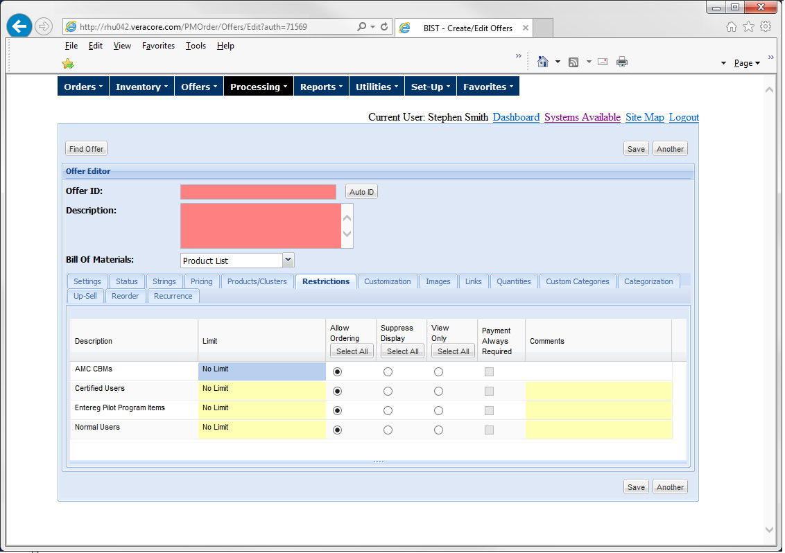 Create Variable Templates, Multi-Level Permissions, and Approval Workflows with only a Couple Clicks!