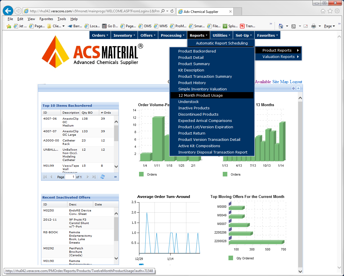 Manage the flow of products in your inventory, log purchase and orders, issue invoices, manage work orders to produce printed collateral on-demand, and create sophisticated inventory reports.